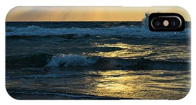 IPhone Case featuring the photograph Sunset by Michael Goyberg