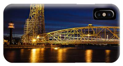 The Bridge Phone Case by David Wynia