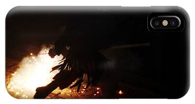 The Devil Of The Stairs IPhone Case