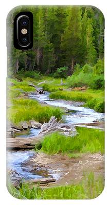 Wilderness Stream IPhone Case