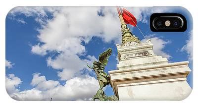 IPhone Case featuring the photograph Altare Della Patria Roma by Benny Marty