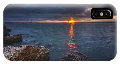 IPhone Case featuring the photograph Beautiful Sunset At Marina Del Rey by Andy Konieczny