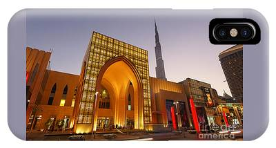 IPhone Case featuring the photograph Dubai Burj Khalifa by Juergen Held