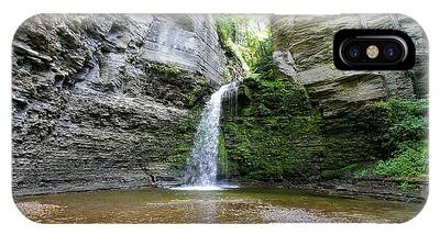 Eagle Cliff Falls In Ny IPhone Case