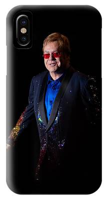 Elton John IPhone Case by Chris Cousins