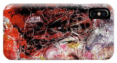 IPhone Case featuring the painting Harmony by Michael Lucarelli