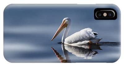 American White Pelican Phone Cases