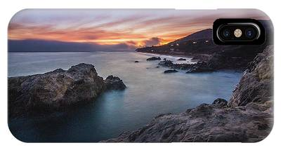 IPhone Case featuring the photograph Leo Carrillo State Beach After Sunset by Andy Konieczny