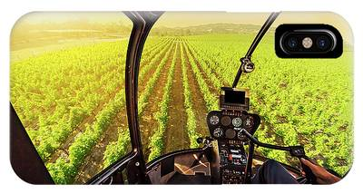 IPhone Case featuring the photograph Napa Valley Scenic Flight by Benny Marty