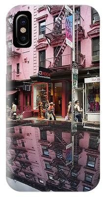 IPhone Case featuring the photograph New York Soho  by Juergen Held