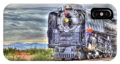 Steam Train No 844 IPhone Case