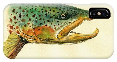 Trout Phone Cases