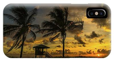 Two Palm Sunrise Delray Beach Florida IPhone Case