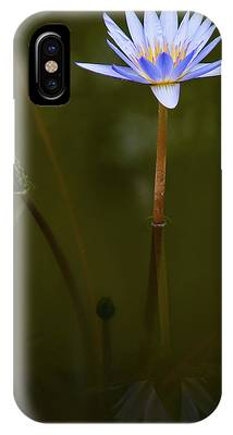 IPhone Case featuring the photograph Deep Lily Reflection by Dennis Dame