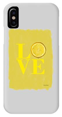 Lemon iPhone Cases