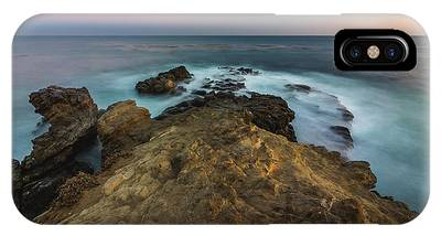 IPhone Case featuring the photograph Smooth Waves At Sequit Point by Andy Konieczny