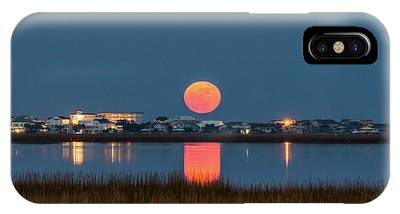 IPhone Case featuring the photograph 2017 Supermoon by Francis Trudeau