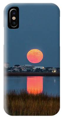 2017 Supermoon IPhone Case by Francis Trudeau