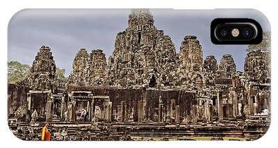 IPhone Case featuring the photograph Angkor Wat by Juergen Held