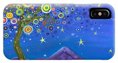 Under The Moon Phone Cases