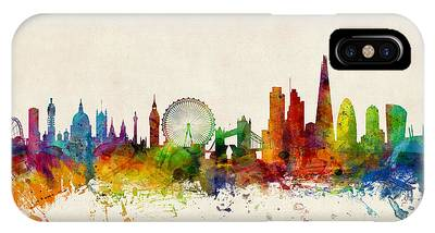 London Skyline Phone Cases