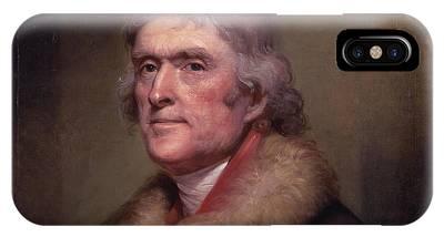 Thomas Jefferson Phone Cases