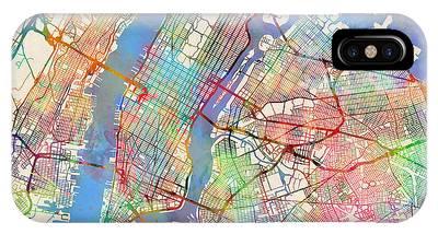 New York Skyline Phone Cases