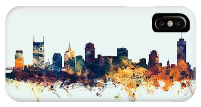 Nashville Skyline Phone Cases