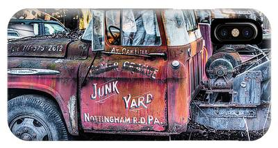 IPhone Case featuring the photograph A Beautiful Rusty Old Tow Truck by Dennis Dame