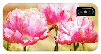 A Bouquet Of Tulips IPhone Case