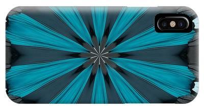 A Burst Of Blue IPhone Case