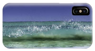IPhone Case featuring the photograph A Clean Break by Chris Cousins