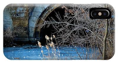 A Frozen Corner In Central Park IPhone Case