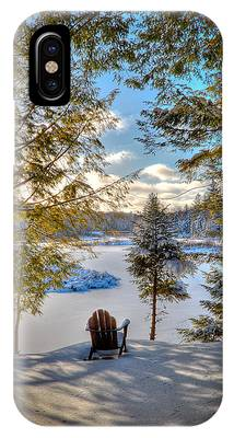 A View Of The Moose IPhone Case