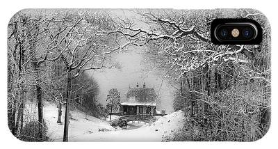A Winter's Tale In Centerport New York IPhone Case