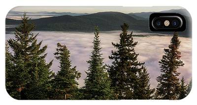 IPhone Case featuring the photograph Above The Clouds by Brad Wenskoski