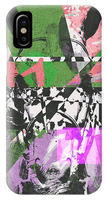 Abstract Horse IPhone Case