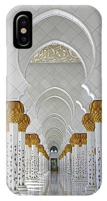 Abu Dhabi Mosque IPhone Case