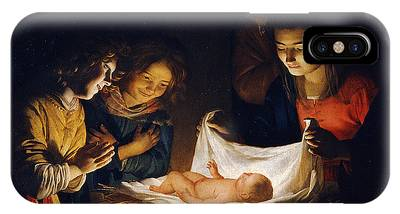 Adoration Of The Child IPhone Case