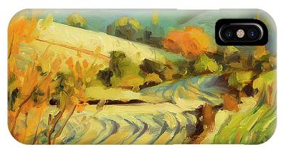 Plowing Paintings iPhone Cases