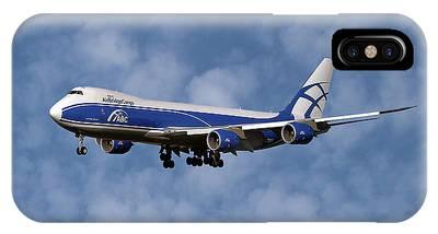 Boeing 747 Phone Cases
