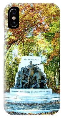 Alabama Monument At Gettysburg IPhone Case