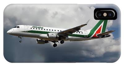 Alitalia Photographs iPhone Cases