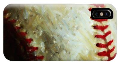 All American Pastime - Baseball - Square - Painterly IPhone Case