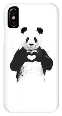 Panda iPhone Cases