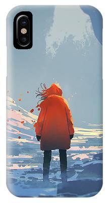 Alone In Winter IPhone Case