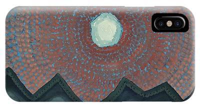 Alpine Resonance Original Painting IPhone Case