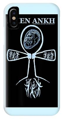 Amen Ankh Indigo IPhone Case