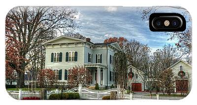 Amos Tuck House In Late Autumn IPhone Case