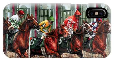 Thoroughbred Race Horse Phone Cases